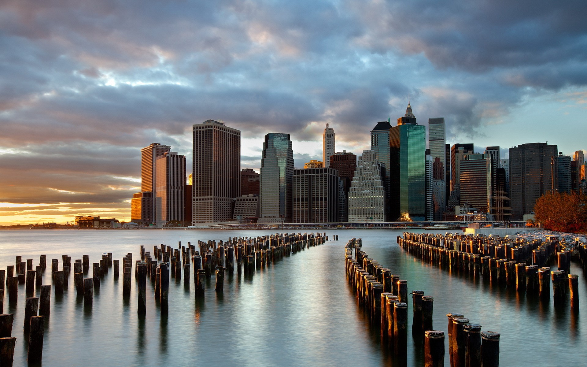 New York Skyline - Wallpaper #33659