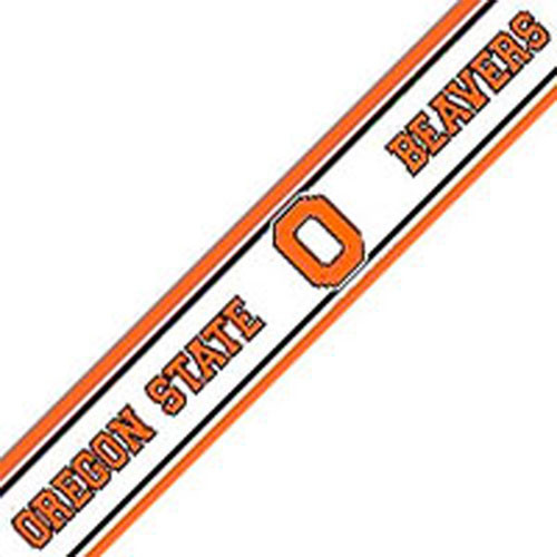 NCAA Oregon State Beavers Prepasted Wallpaper Border Roll modern 500x500