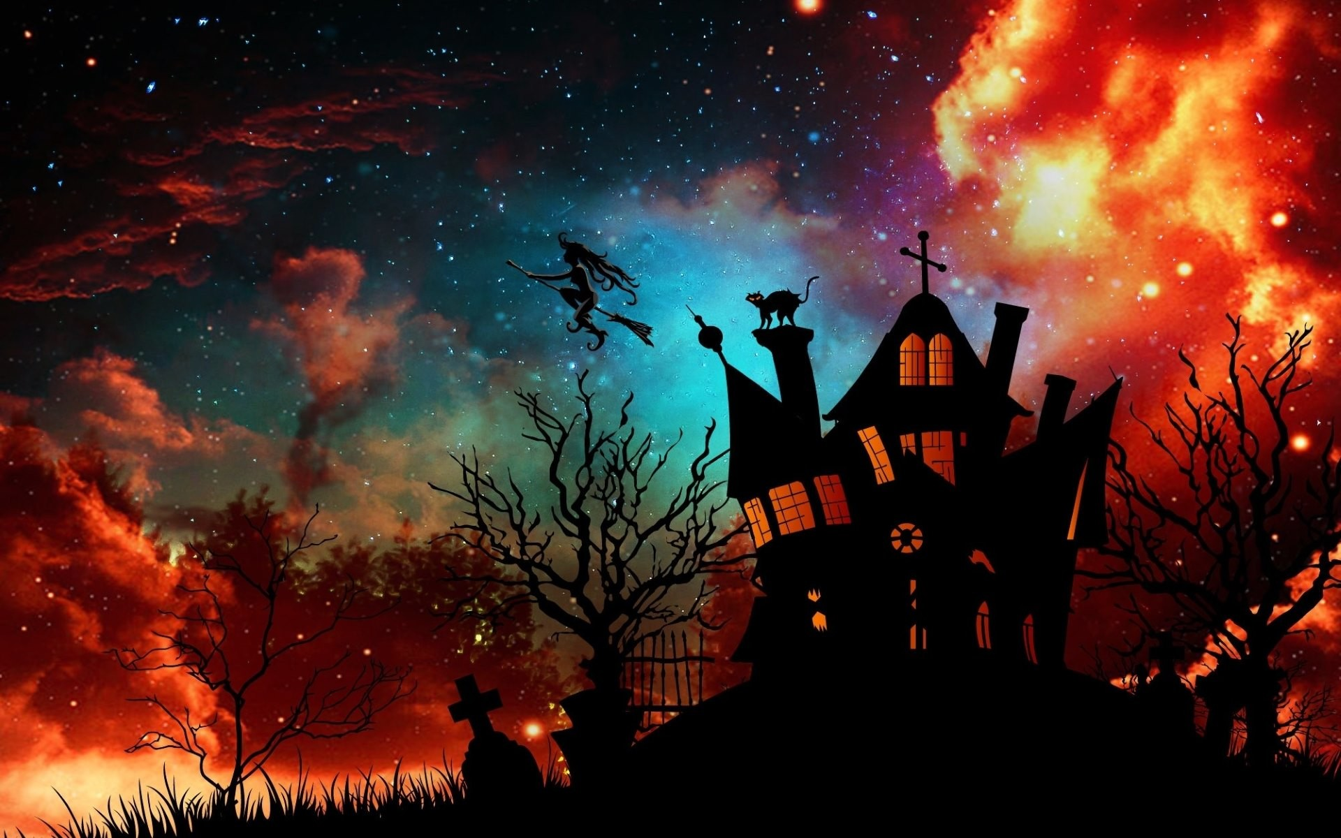 77 Halloween Wallpapers on WallpaperPlay 1920x1200