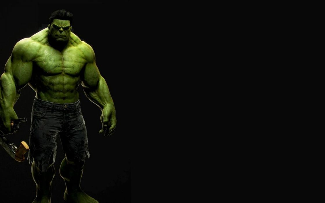 Green beast marvel comics the avengers movie black background 1120x700