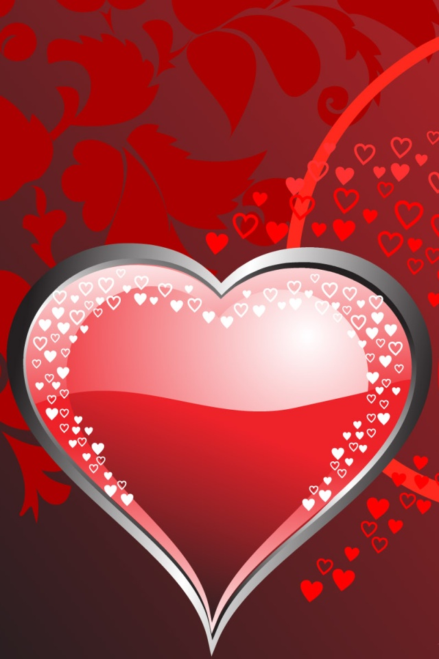 41 Cute Valentine IPhone Wallpapers To Download Available 640x960