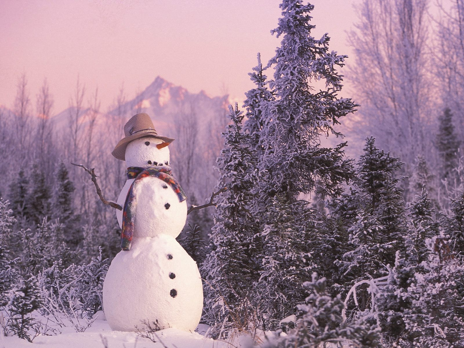 Frosty the Snowman wallpaper 1600x1200