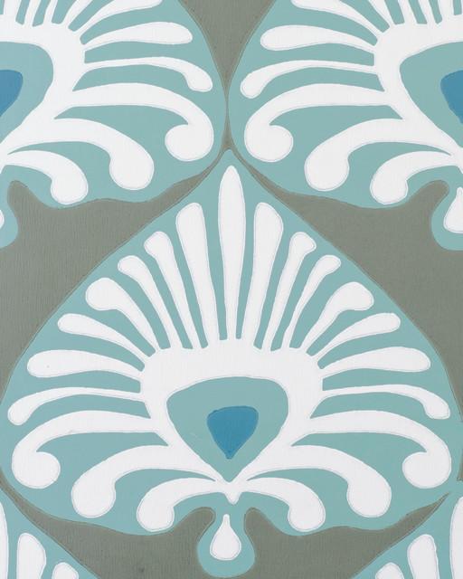 Serena Lily Palmetto Wallpaper modern wallpaper 512x640