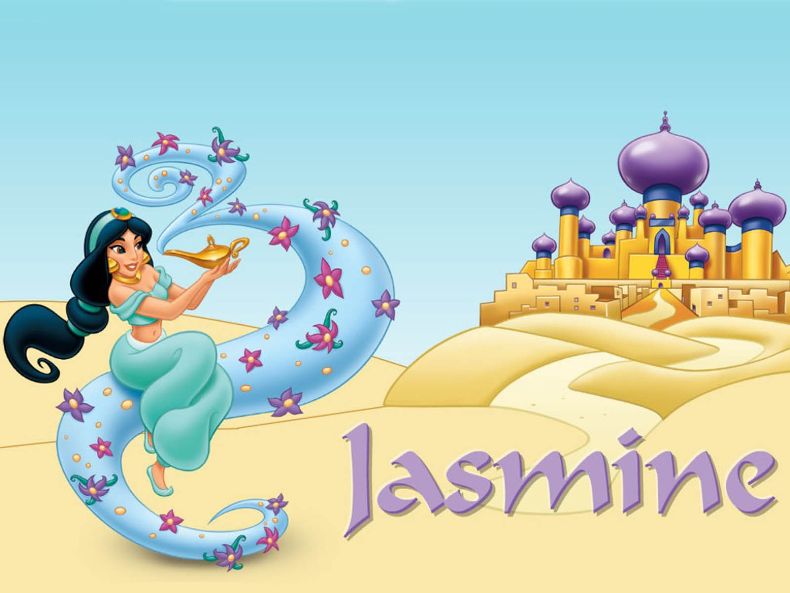 Jasmine Wallpapers DisneyPrincess Jasmine Desktop Wallpapers Disney 1600x1200