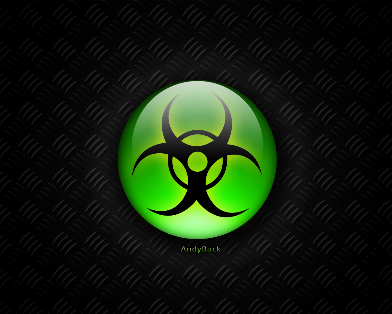 Blue Biohazard Wallpaper - WallpaperSafari