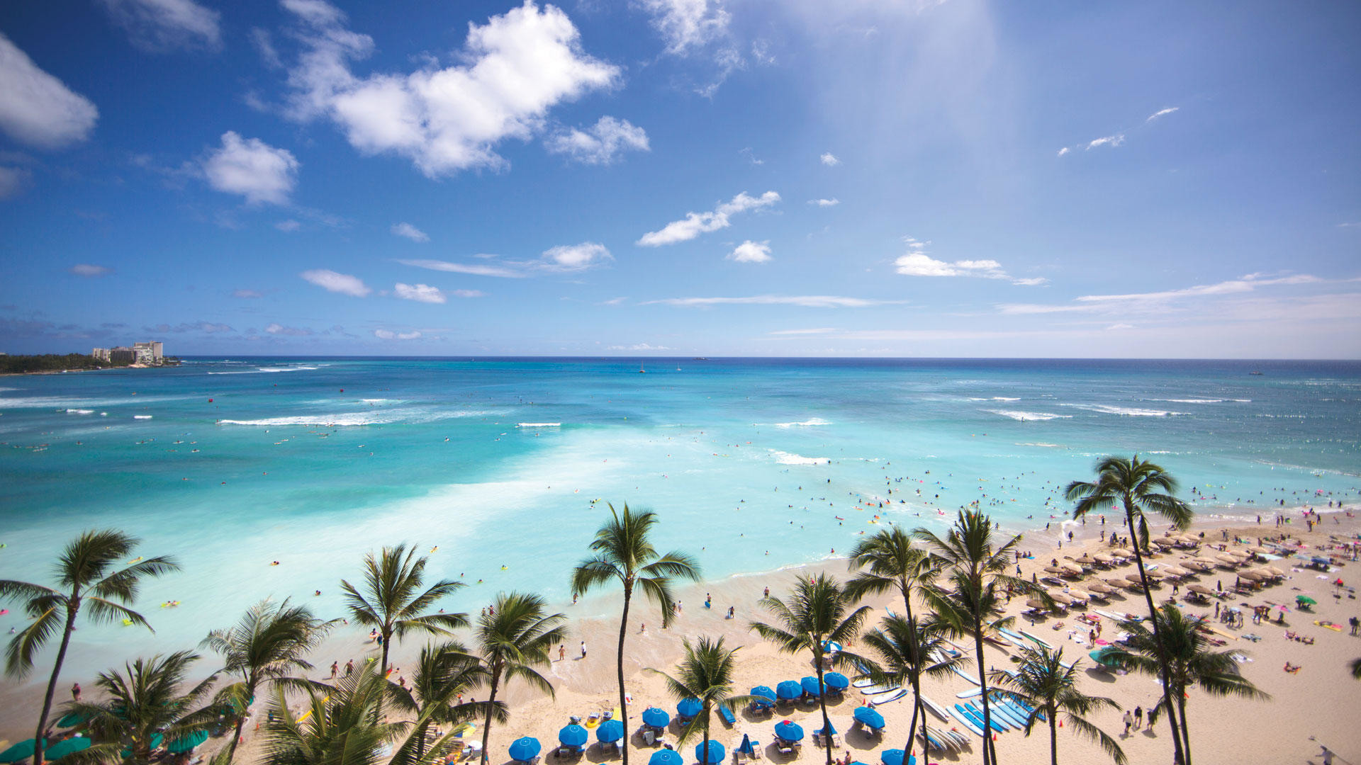 61 Waikiki Beach Wallpapers on WallpaperPlay 1920x1080