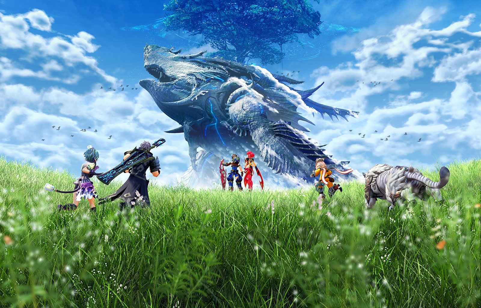 17 Xenoblade Chronicles 2 HD Wallpapers Background Images 1600x1024