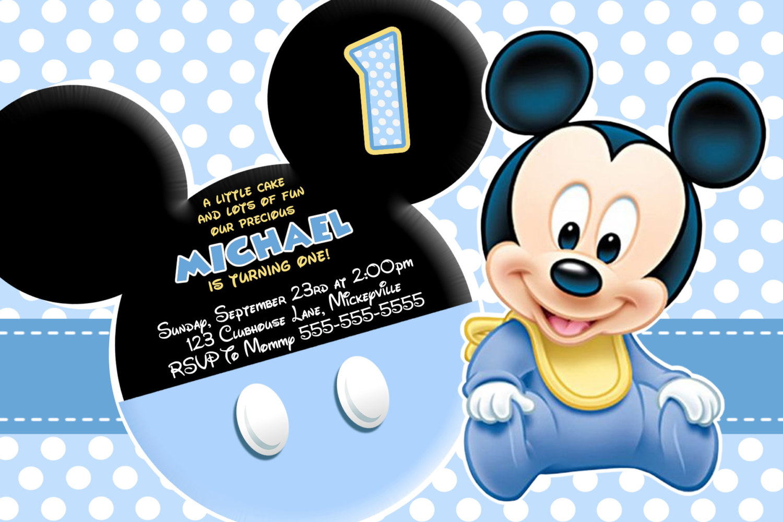 Mickey Mouse Birthday Wallpaper Wallpapersafari