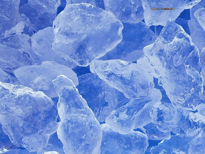 Ice Block Picture Wallpaper Cube 700x525