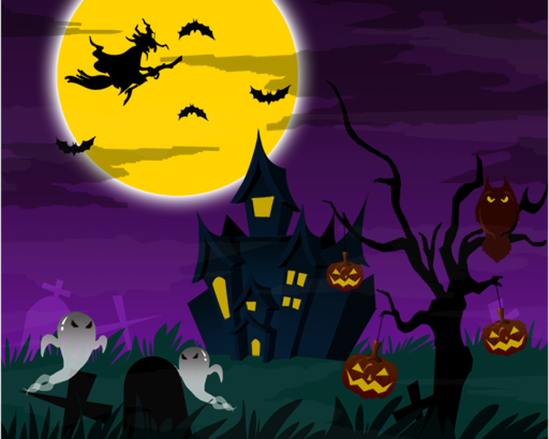 Halloween Live Wallpaper PRO APK   download app for 800x640