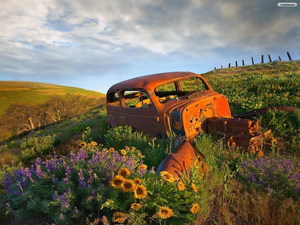 YouWall - Old Car Wallpaper - wallpaper,wallpapers,free wallpaper ...