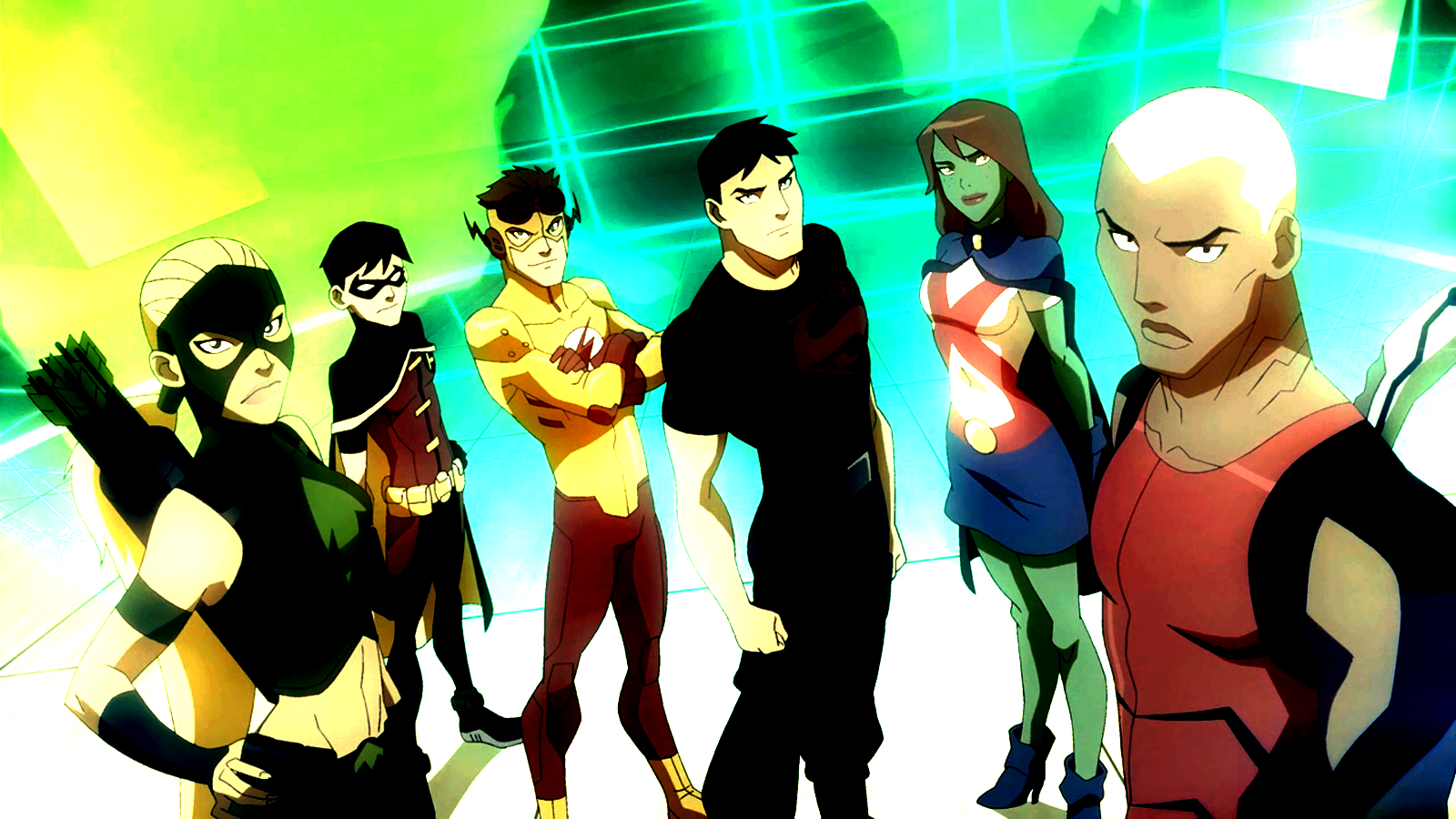 Shiny Justice   Young Justice Wallpaper 29630850 1600x900