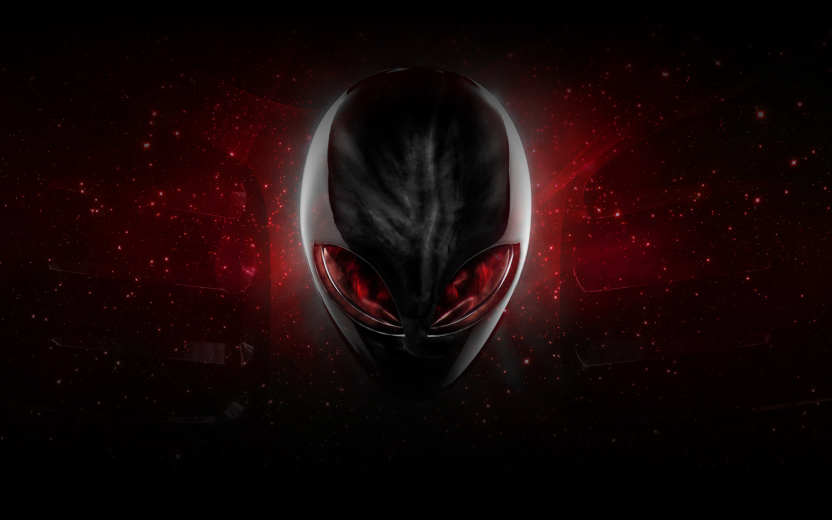 netfs70f2010196cdAlienware Red Wallpaper by ExileStyle90jpg 1680x1050