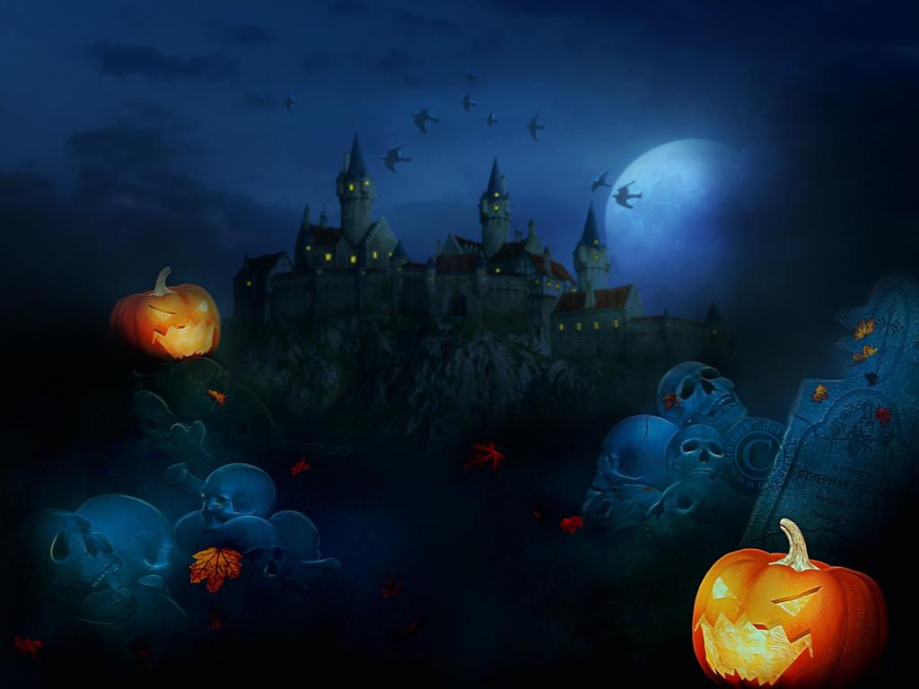 Halloween Wallpaper Pack by dianar87 1024x768