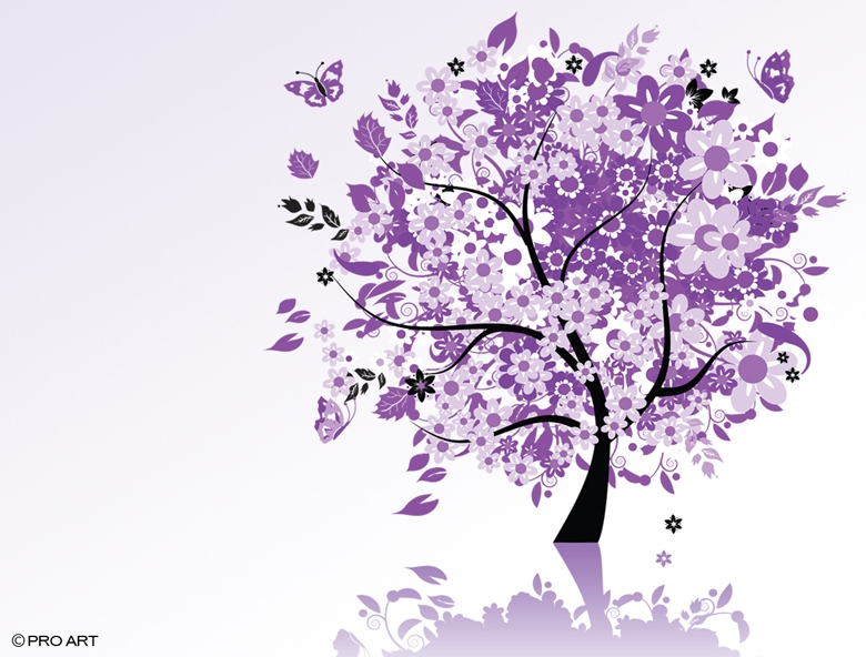 Free Download Purple Tree 780x592 For Your Desktop Mobile