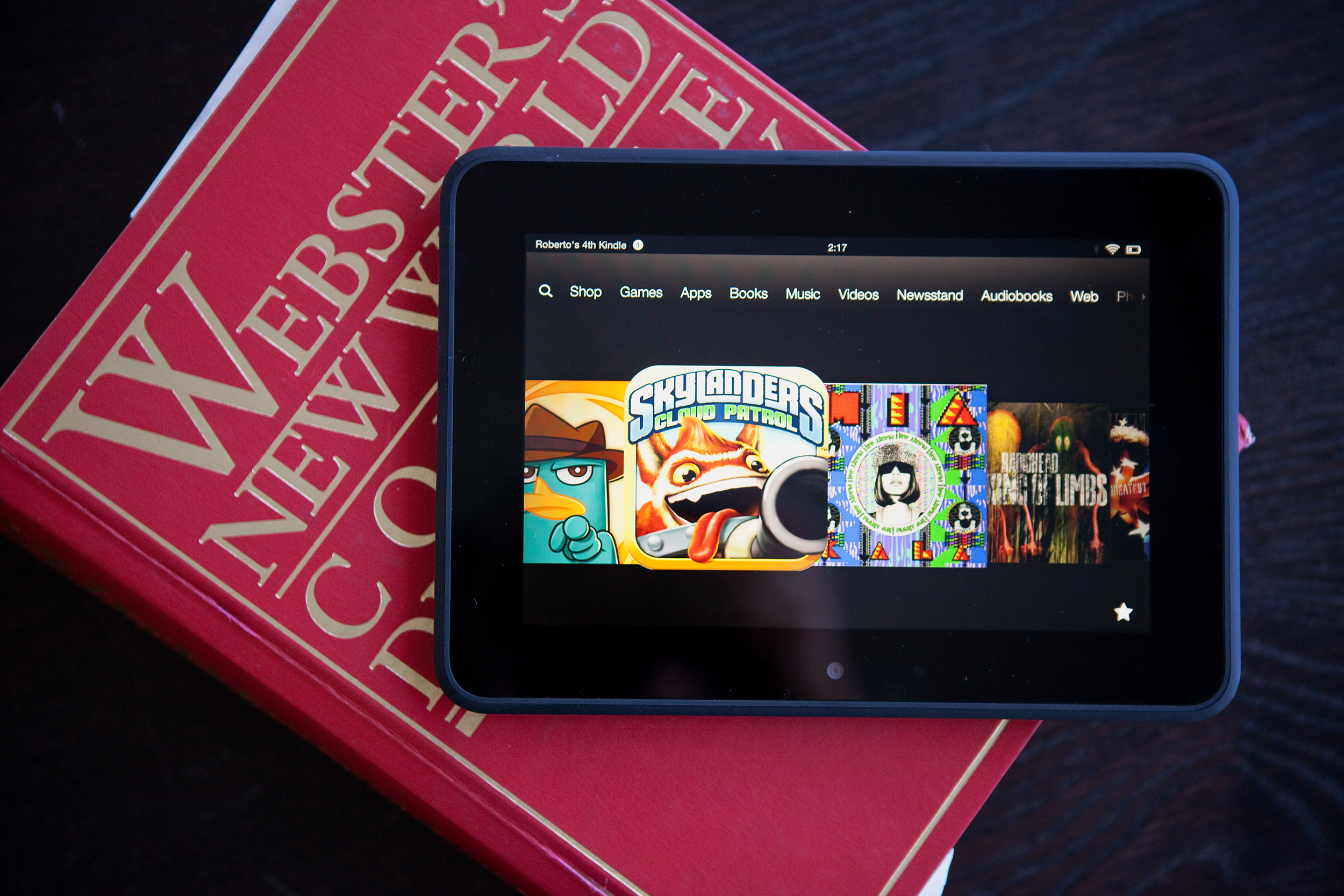 Amazons Kindle Fire HD one of the few successful rivals to Apple 2500x1667