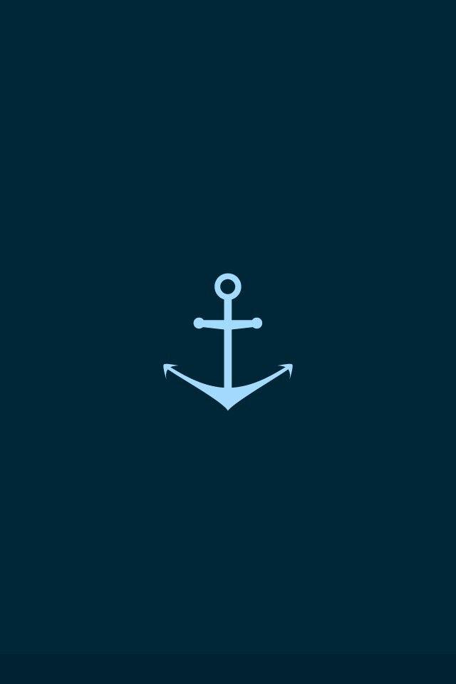 Anchor wallpaper iPhone Pinterest 640x960