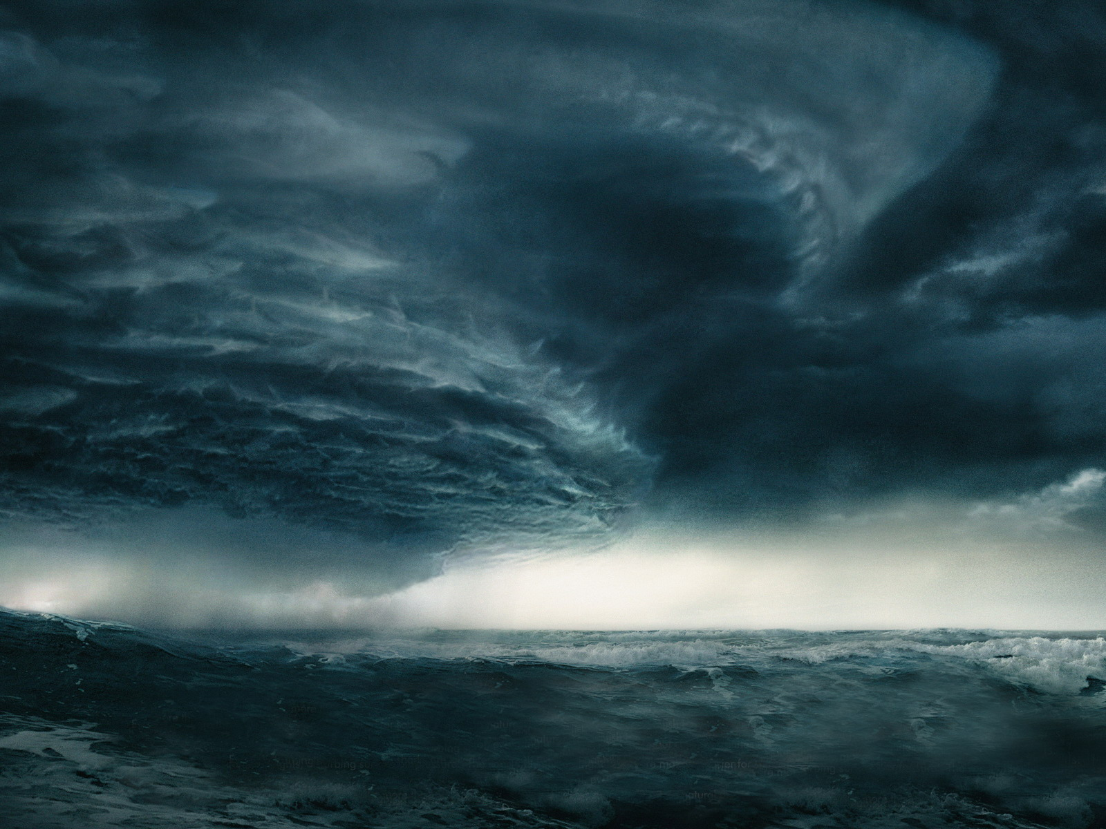 Dark Stormy Ocean Wallpaper - Viewing Gallery