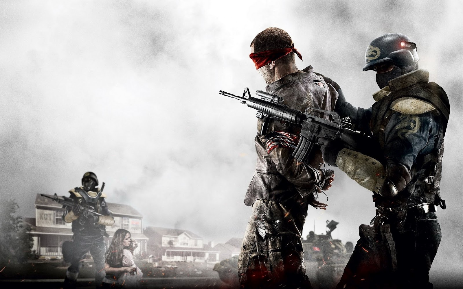Homefront Awesome Game Graphic Shooter Soldier HD Wallpaper 1600x1000