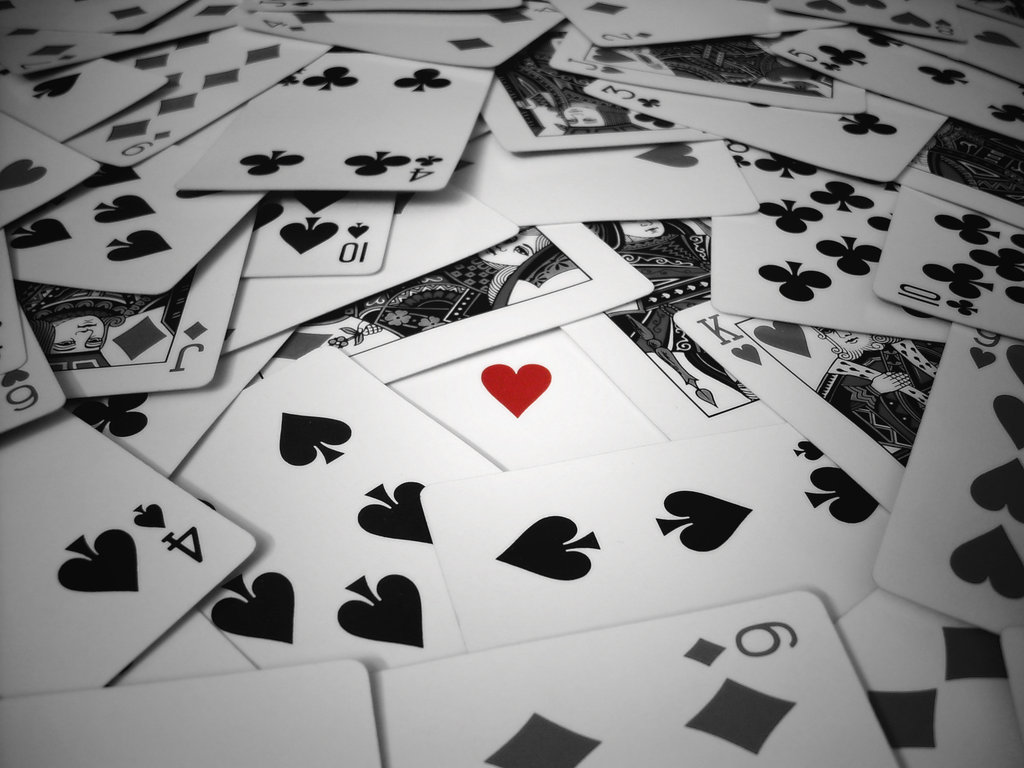 Playing Cards Wallpaper 1024x768