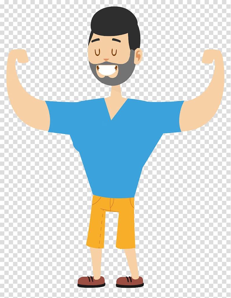 Human body Cartoon Strongman transparent background PNG clipart 796x1024