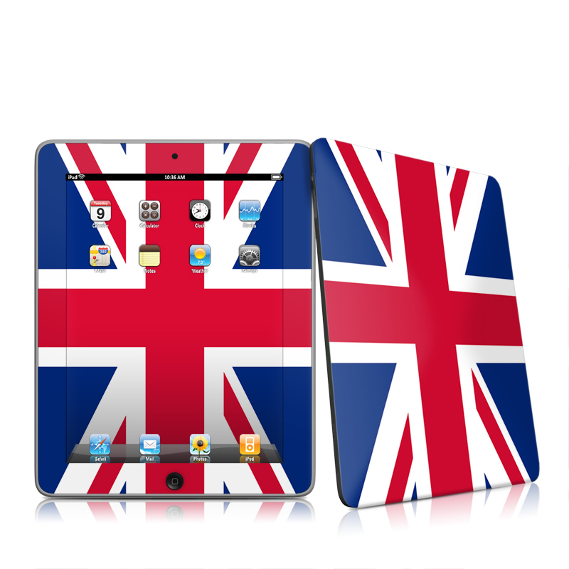 Apple iPad iPad 2010 1st Gen Union Jack Apple iPad 1st Gen Skin 800x800