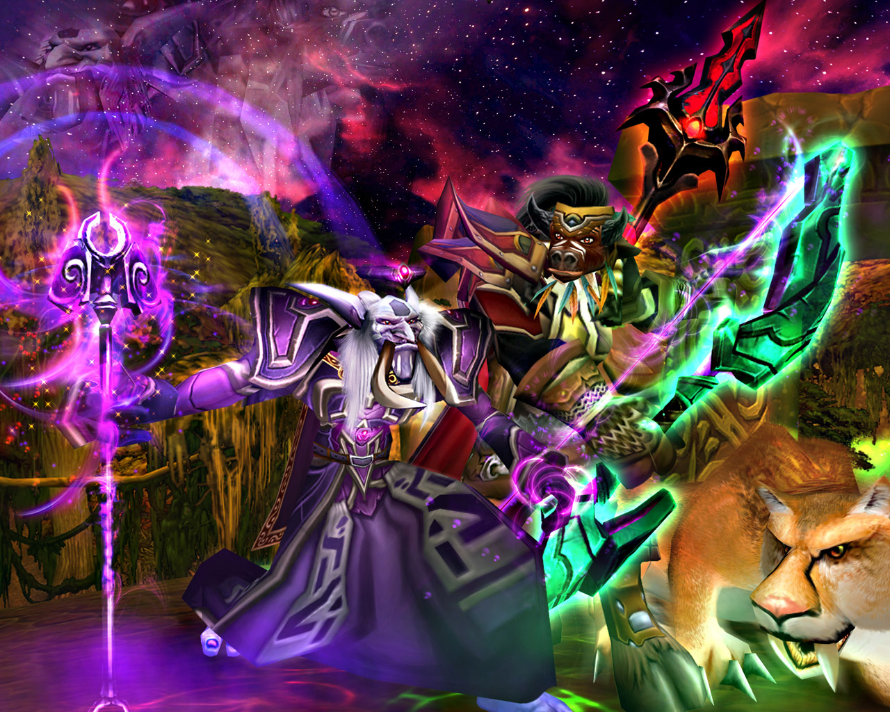 Awesome WoW Wallpapers   MMORPG Photo News   MMOsitecom 1280x1024
