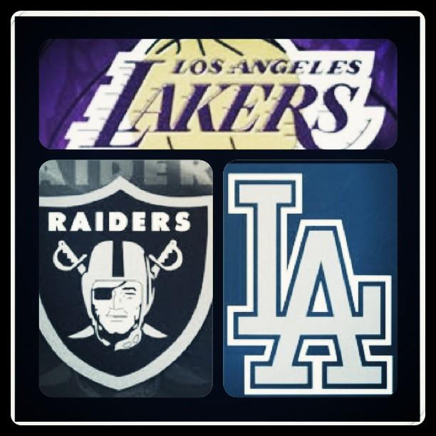 Lakers Raiders Dodgers Wallpaper Wallpapersafari