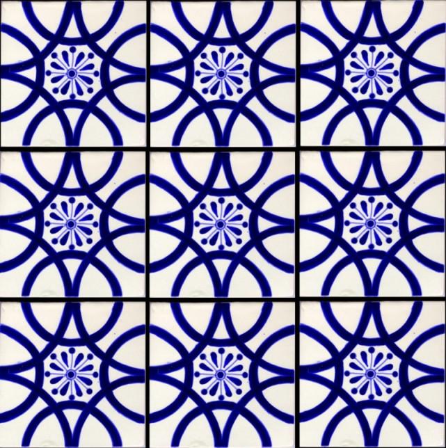 Spanish Tile Wallpaper 641x644