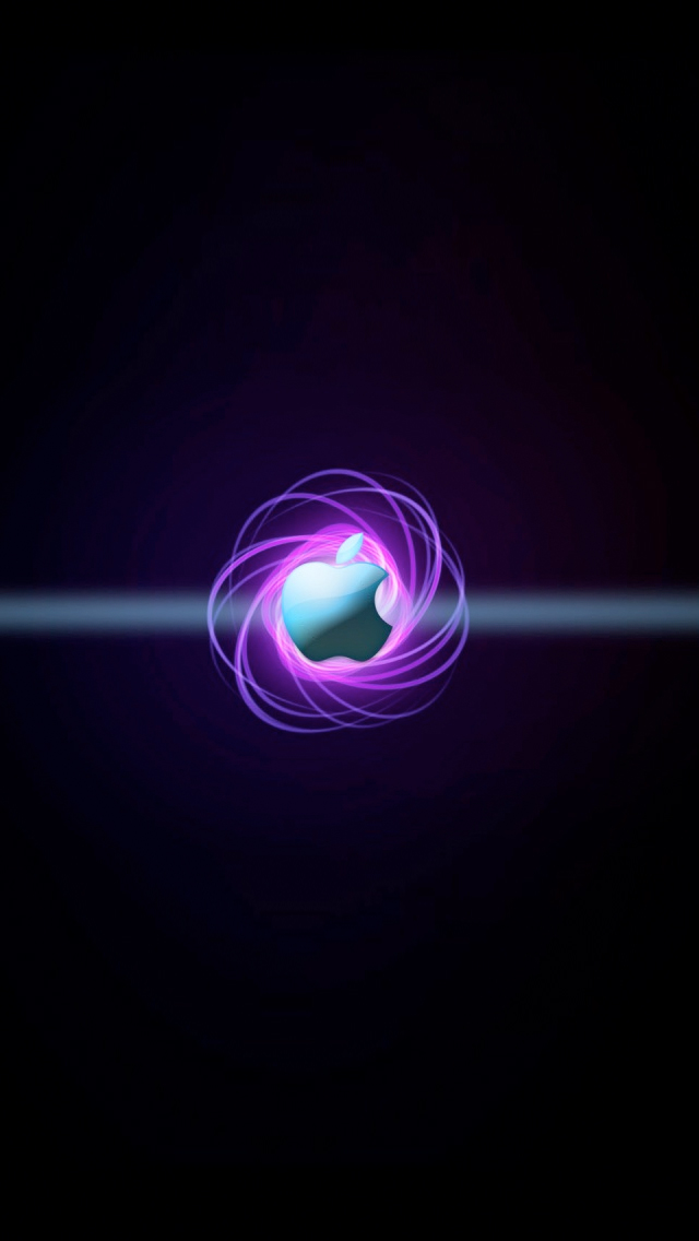 Nucleus Apple Logo iPhone 5s Wallpaper Download iPhone Wallpapers 640x1136