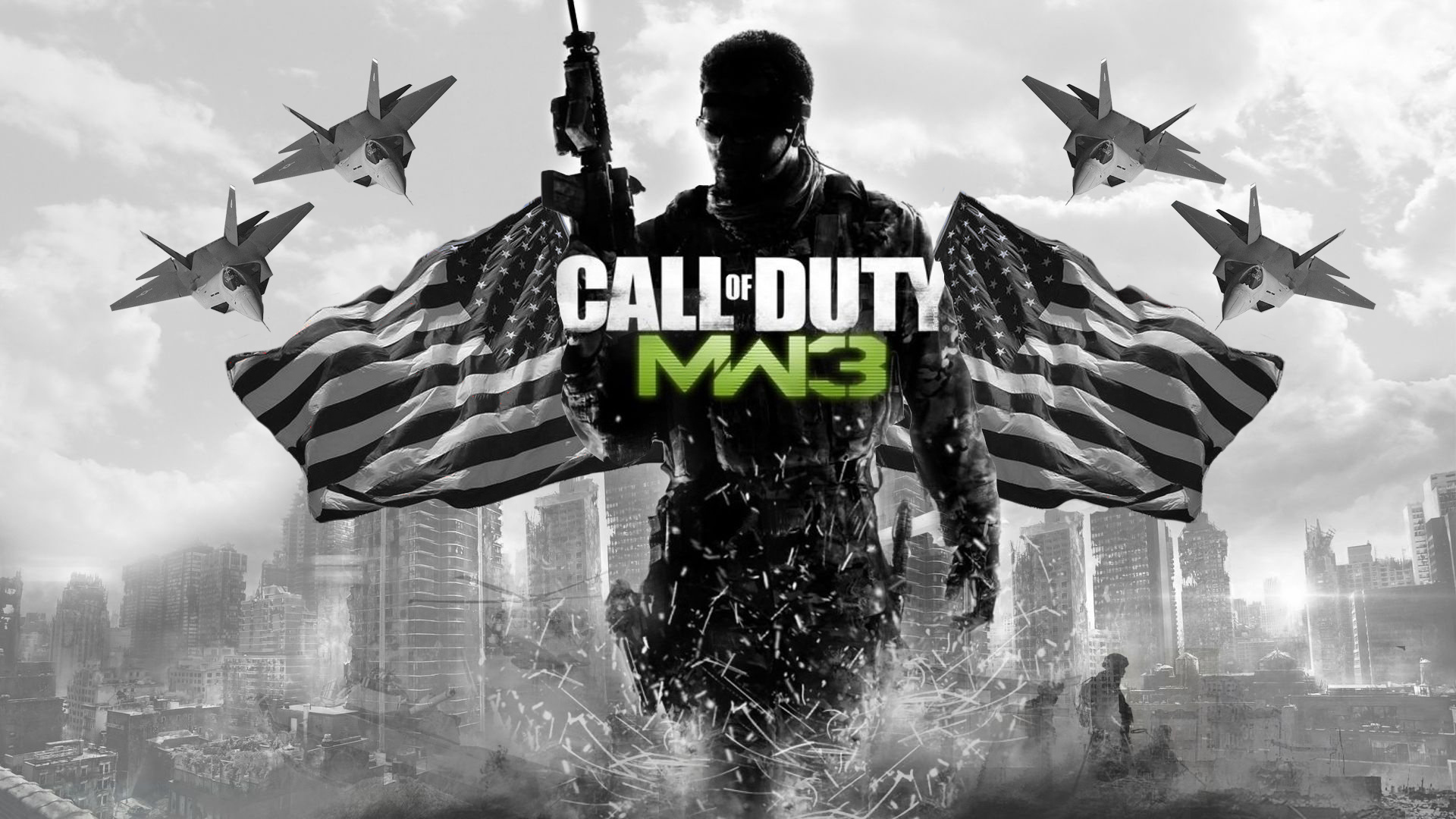Call of Duty Modern Warfare 3 Wallpaper HD Game Wallpapers 1920x1080