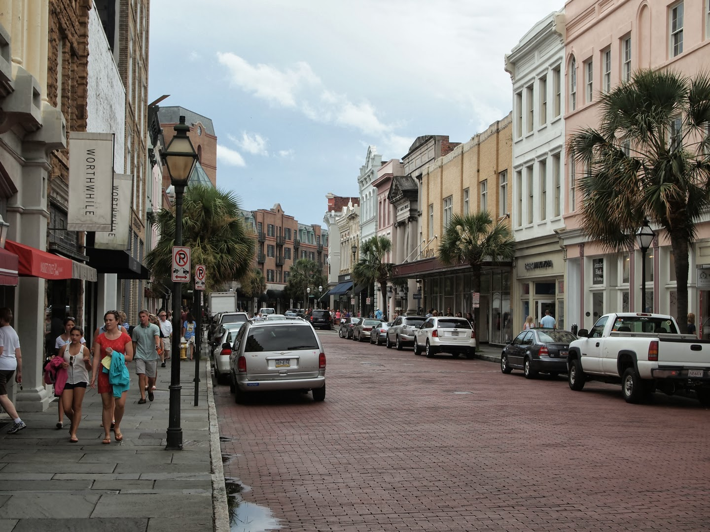 King Street Charleston Sc PC Android iPhone and iPad Wallpapers 1440x1080