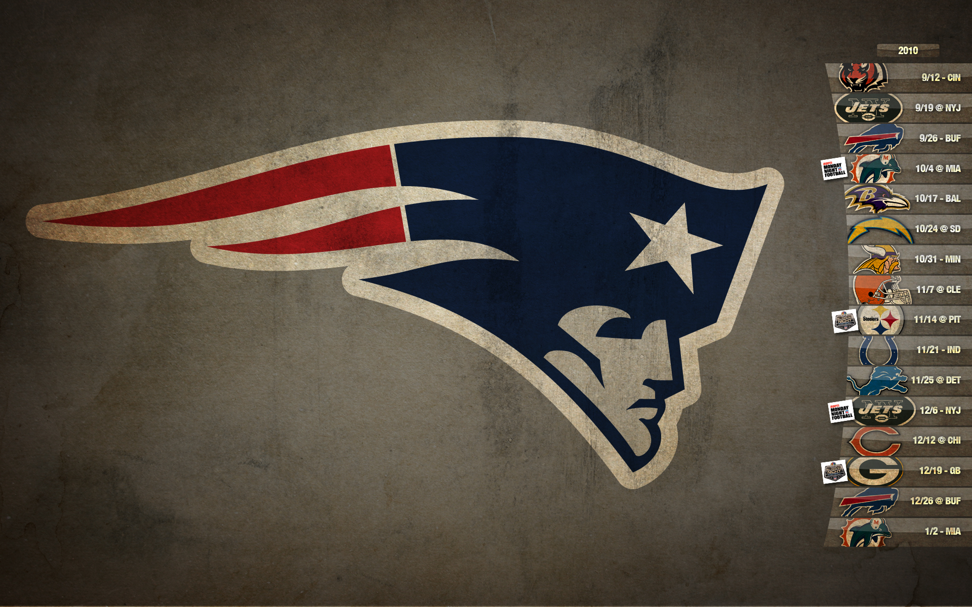 New England Patriots Screensaver - 1564.0KB