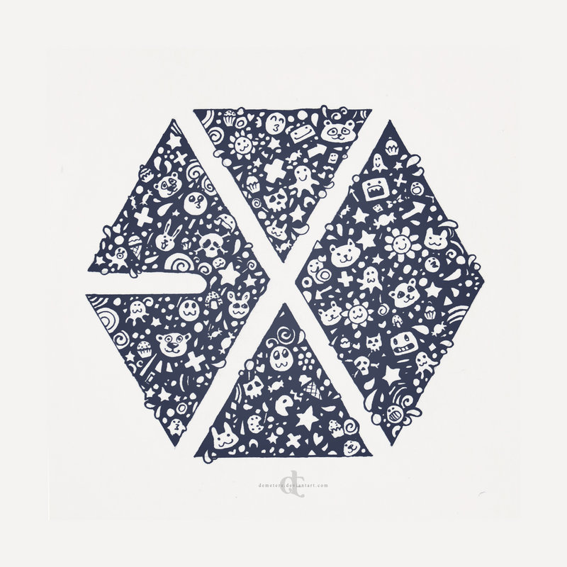 Exo Logo Iphone Wallpaper Images Pictures   Becuo 800x800