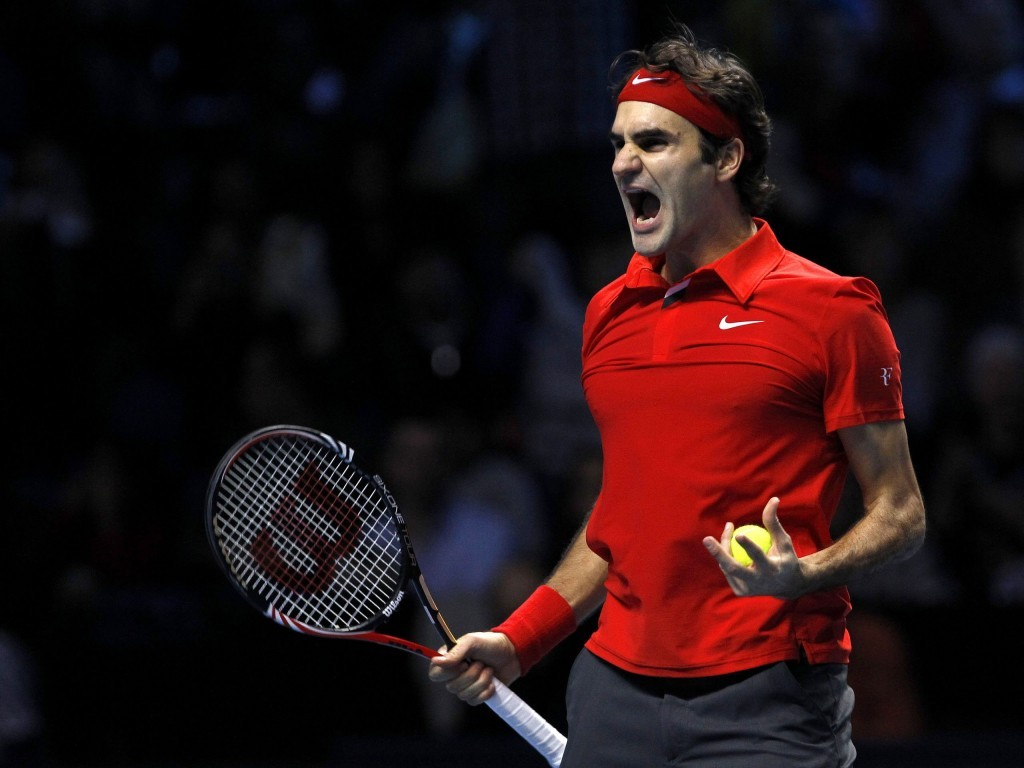 Roger Federer Tennis Player HD Wallpaper For Desktop 1024x768