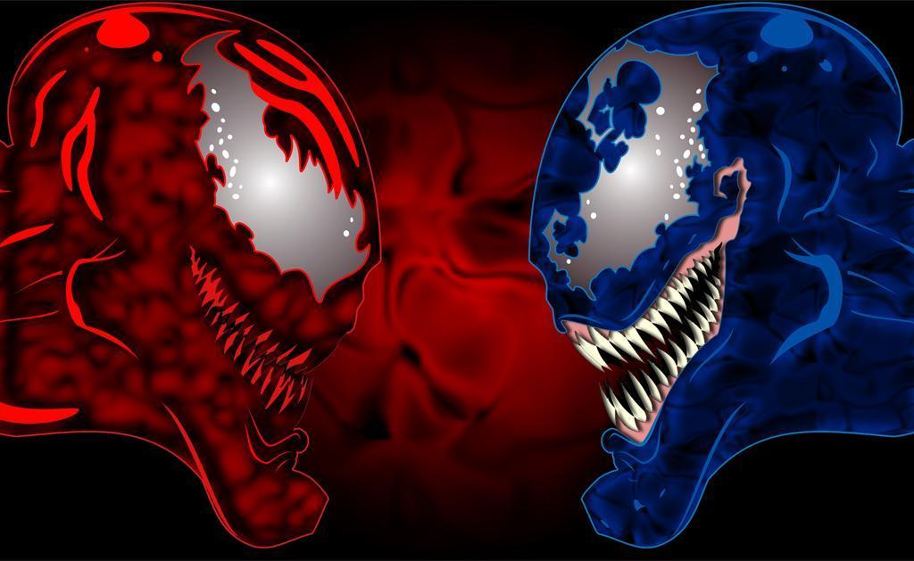 Venom Vs Carnage Wallpaper Venom vs carnage by 1024x629