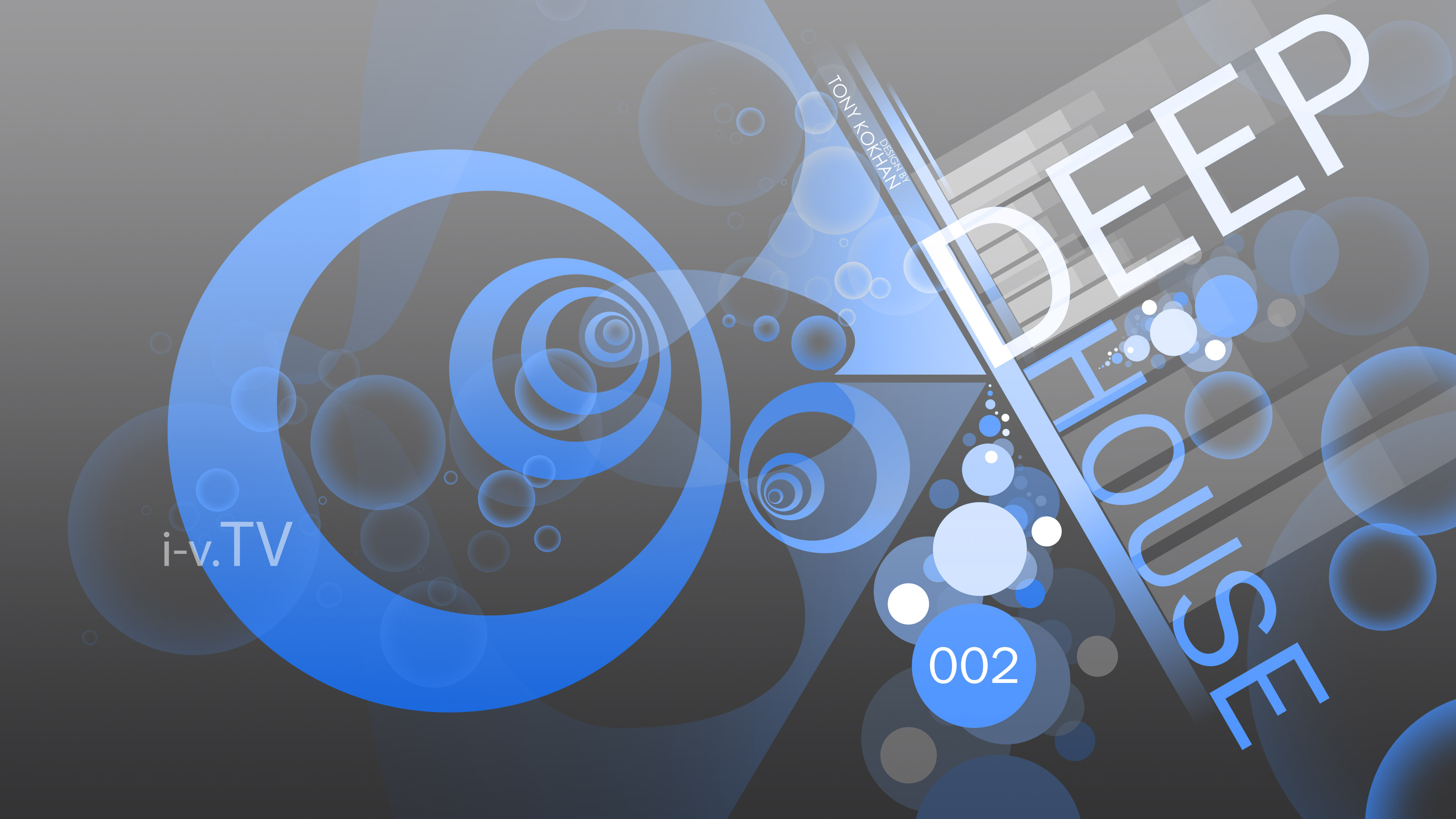 Deep House Music eQ Simple Creative Two Abstract Style 3840x2160