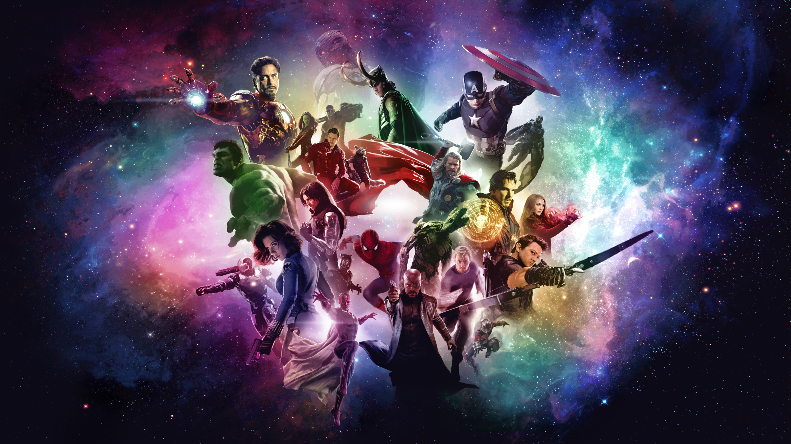 Marvel Cinematic Universe Wallpaper by RockLou 2560x1440
