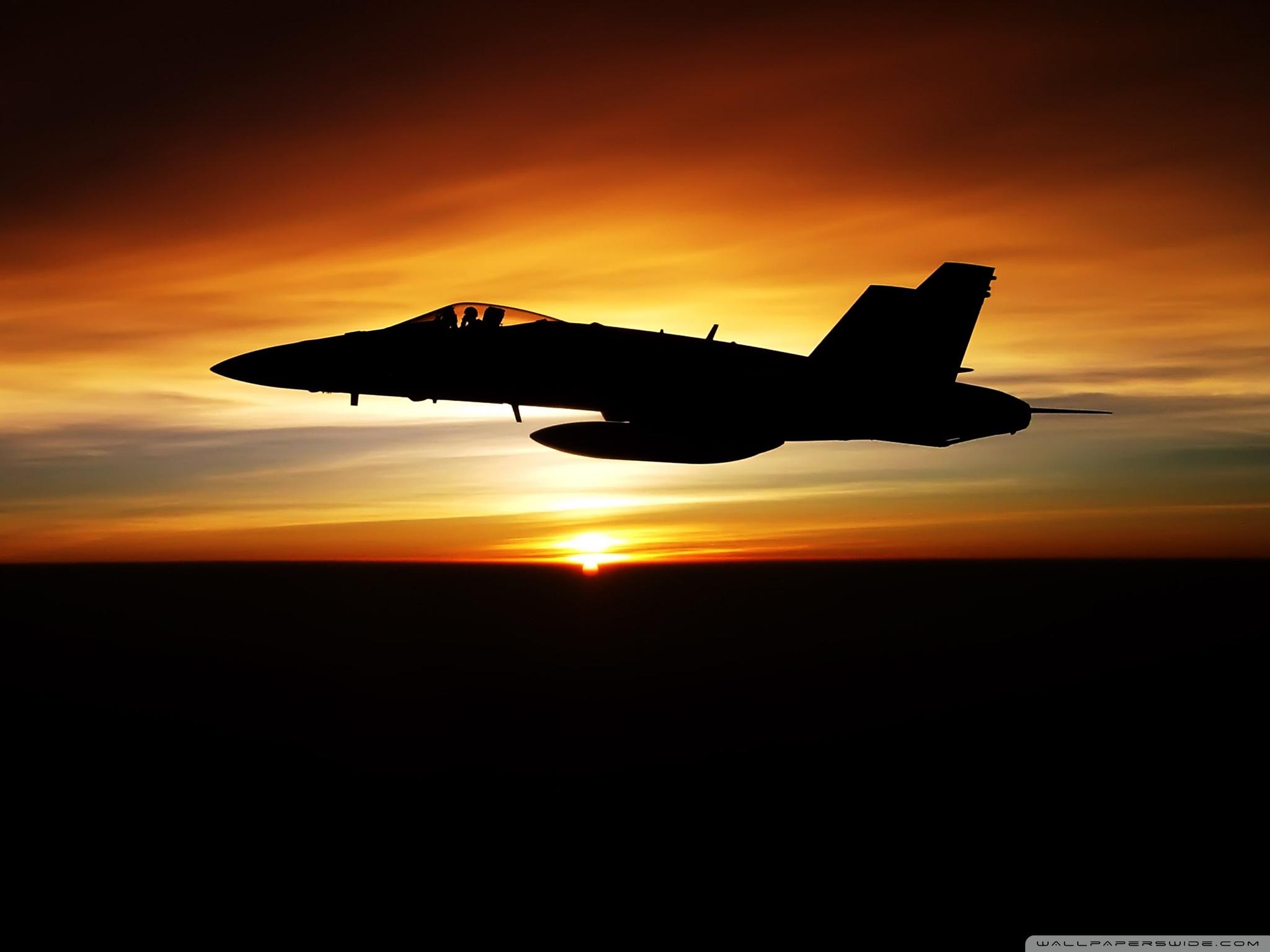 FA 18C Hornet Aircraft Ultra HD Desktop Background Wallpaper for 2048x1536