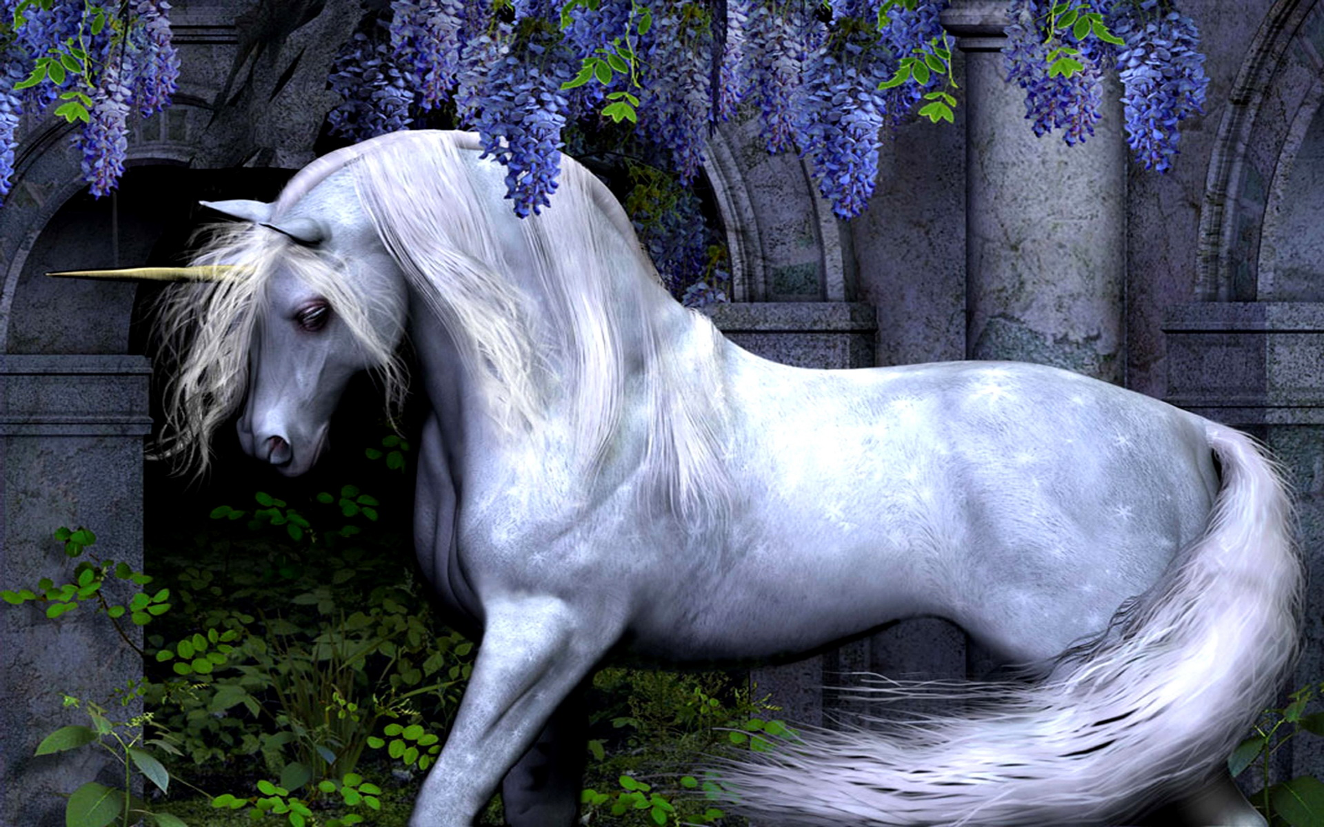 fantasy unicorn wallpapers desktop downloads unicorn wallpaper 1920x1200