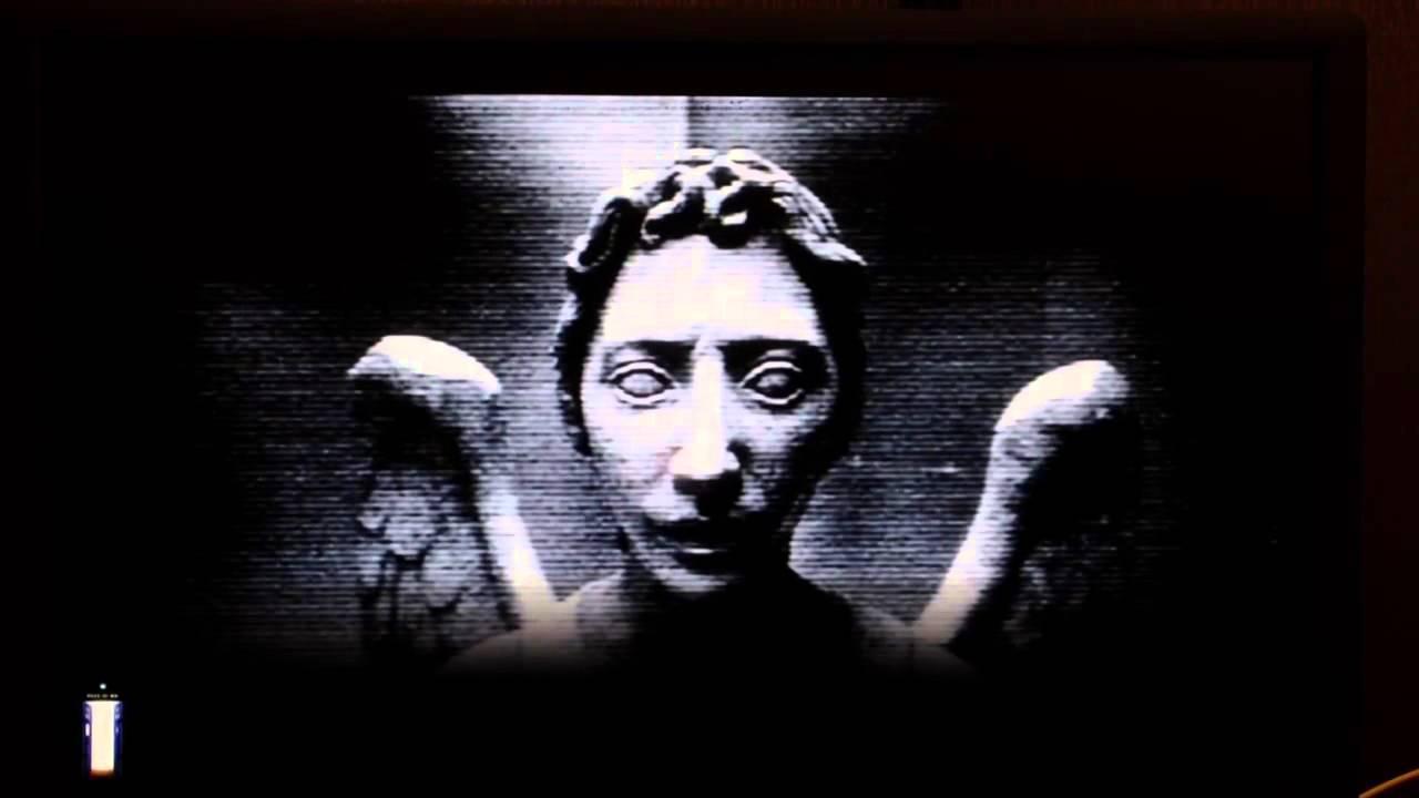 Weeping angel screensaver 1280x720