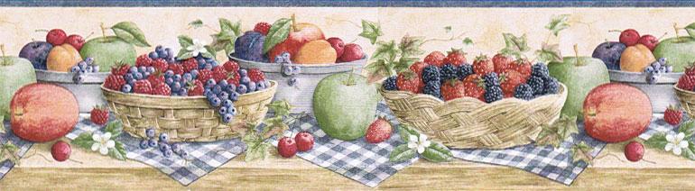 fruit wallpaper border kitchen fruit wallpaper border fruit wallpaper 770x212
