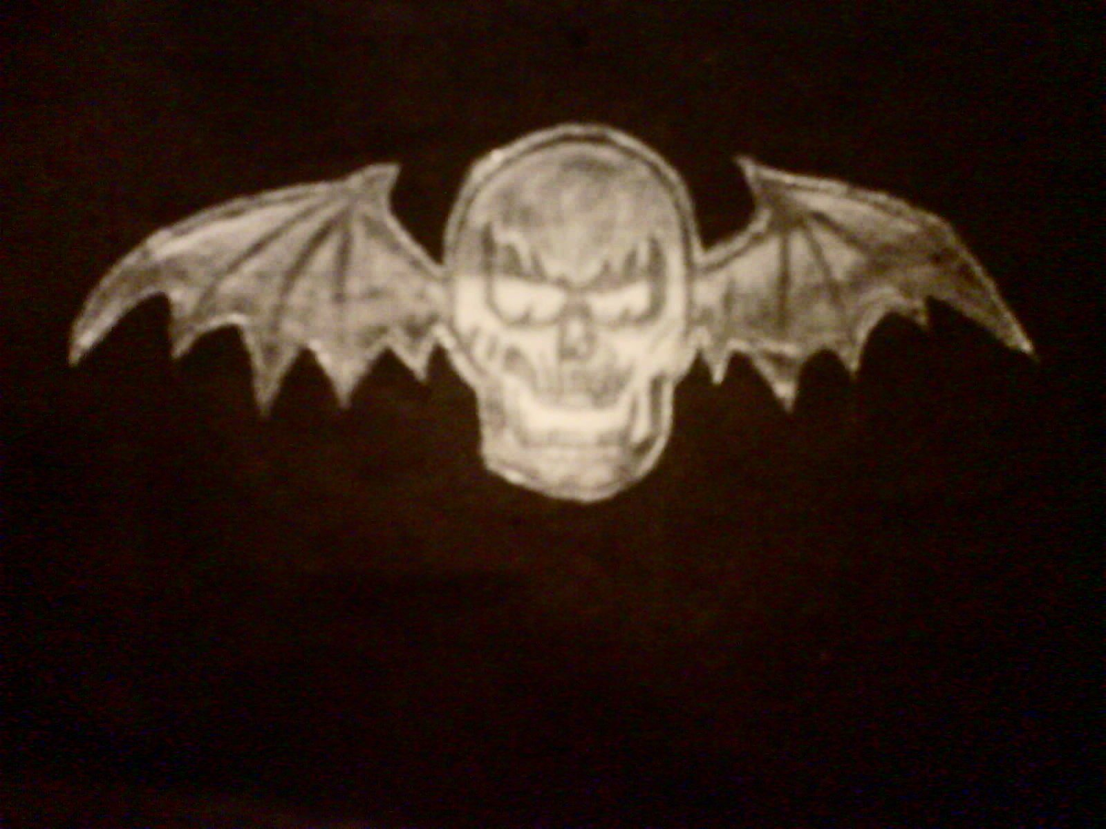 Deathbat   Avenged Sevenfold Fan Art 2412686 1600x1200