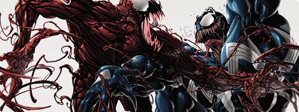 Venom Vs Carnage Wallpaper 1 608x229