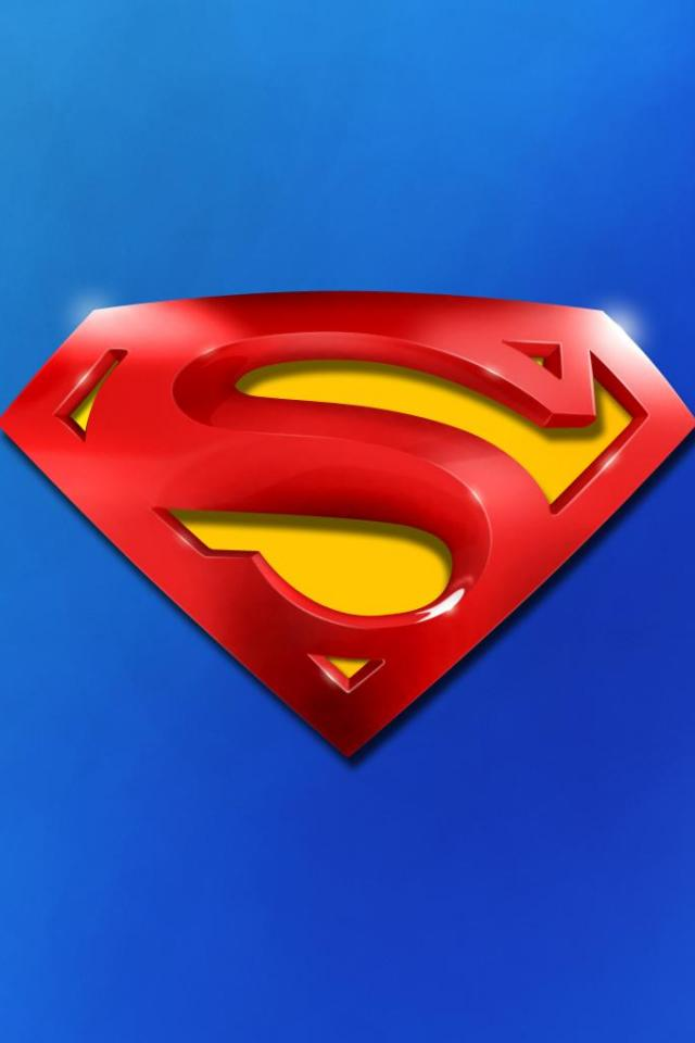 Superman Iphone 4 Wallpapers 640x960 Mobile Phone Pictures 640x960