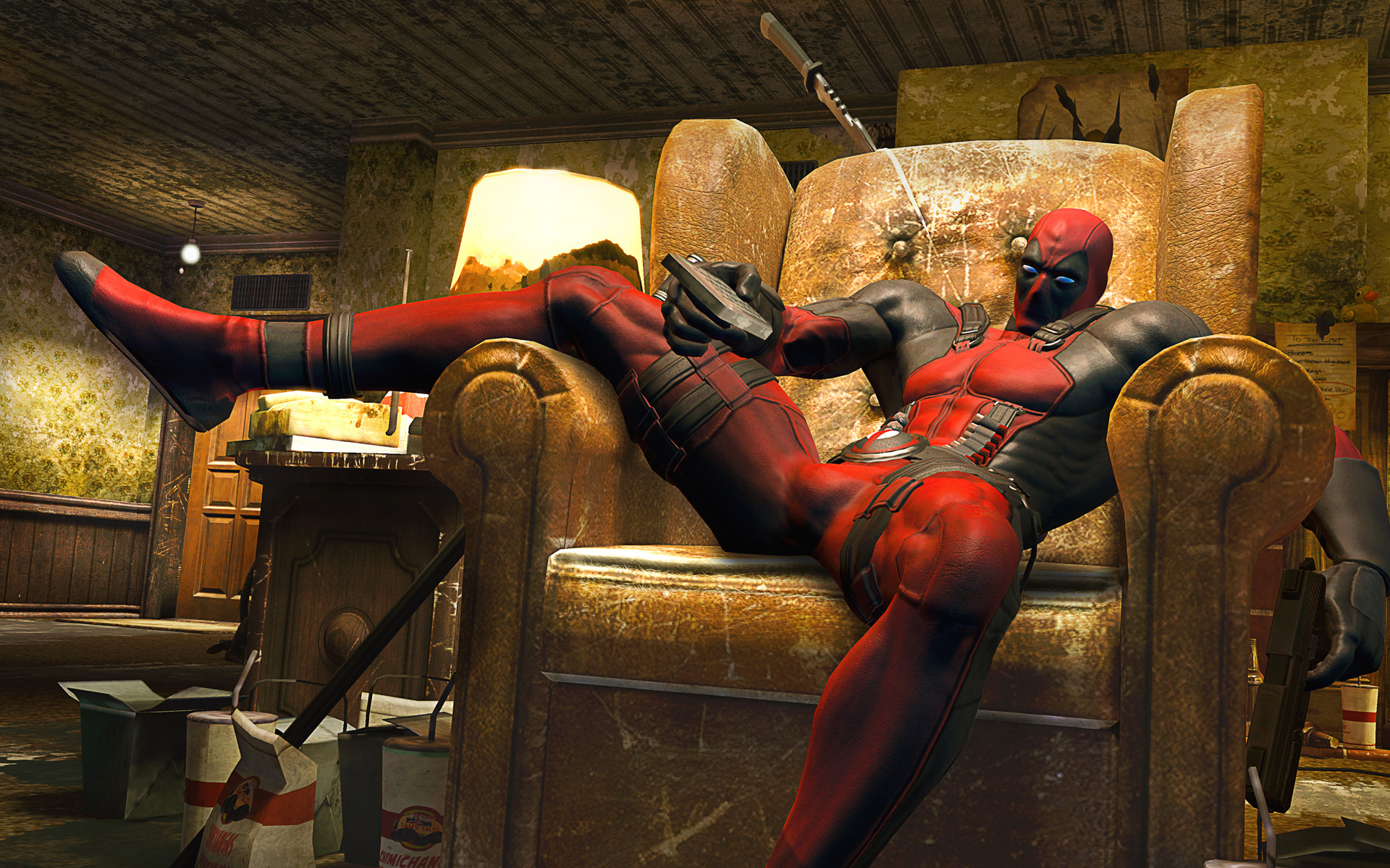 Cool Deadpool Wallpaper High Resolution HD Video Games Wallpapers 1920x1200
