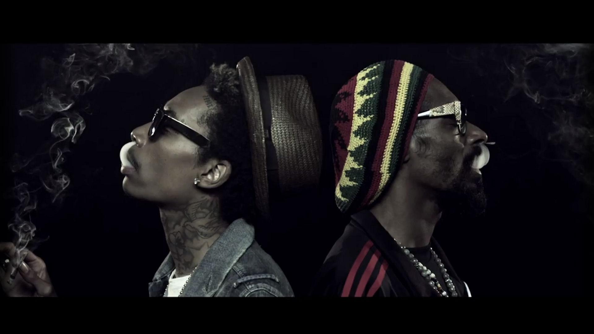 Wiz Khalifa and Snoop Dogg Smoking Rap Wallpapers 1920x1080