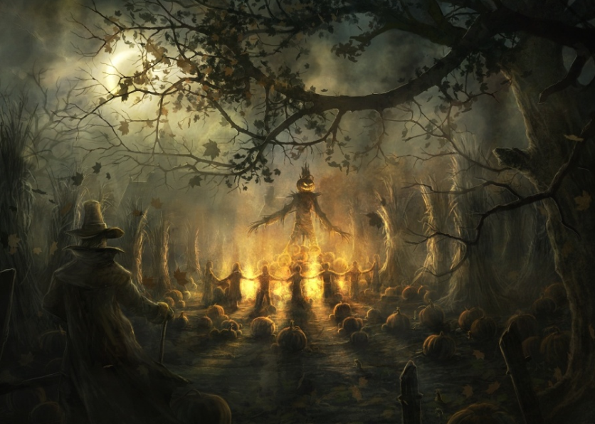 the collection of 30 Halloween HQ Wallpapers for your Desktop 836x596