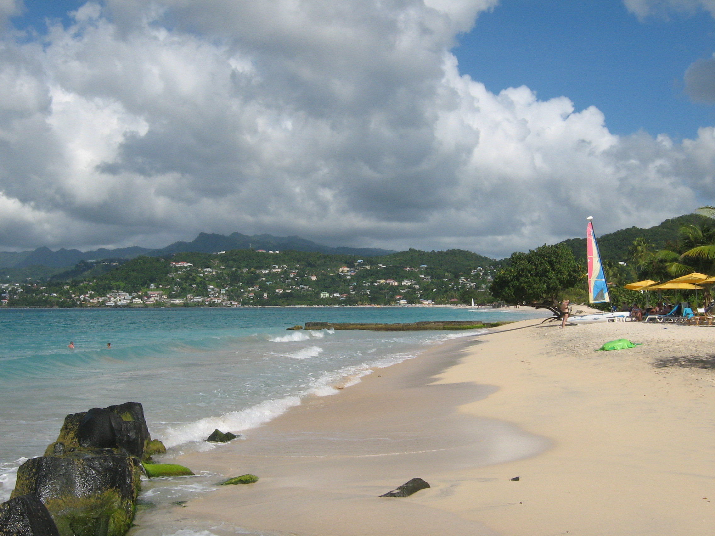 Related Pictures Grand Anse Beach Grenada America S Wallpapers 2272x1704