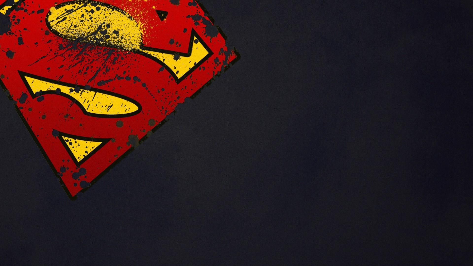 DC Comics Wallpaper 1920x1080 DC Comics Superman Superman Logo 1920x1080